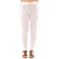 Kleidung Damen Hosen By La Vitrine Pantalon American Vitrine BLV02 Blanc Weiss