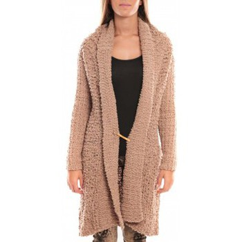Kleidung Damen Jacken By La Vitrine Veste Julie 33001 Beige Beige