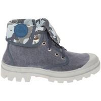 Schuhe Damen Boots Cassis Côte d'Azur Baskets Genorine Bleu Blau