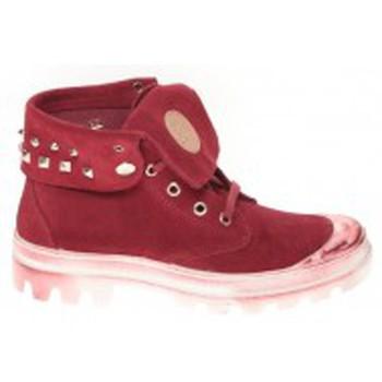 Schuhe Damen Sneaker High Cassis Côte d'Azur Baskets Ginara Bordeaux Rot