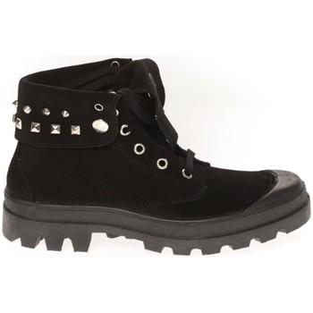 Schuhe Damen Sneaker High Cassis Côte d'Azur Baskets Ginara Noir Schwarz