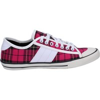 Schuhe Mädchen Sneaker Low Date sneakers pink fucsia textil BX735 pink