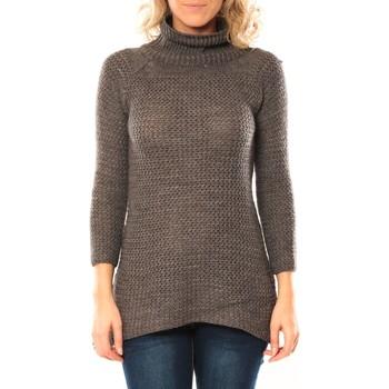 Kleidung Damen Pullover De Fil En Aiguille Pull M&G Gris foncé Grau