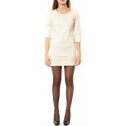 Kleidung Damen Kurze Kleider Dress Code Robe 125  Noemie Blanc Weiss