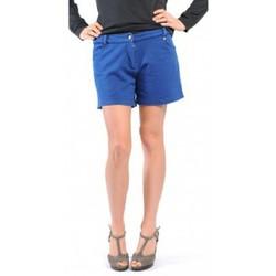 Kleidung Damen Shorts / Bermudas American Vintage SHORT KEY131 INDIGO Blau
