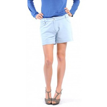 Kleidung Damen Shorts / Bermudas American Vintage SHORT KEY131 BLEU JEANS Blau