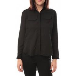 Kleidung Damen Hemden By La Vitrine Chemise Eloise 285 Noir Schwarz