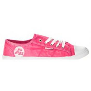Schuhe Damen Sneaker Low Cassis Côte d'Azur Baskets Vika Rose Rose