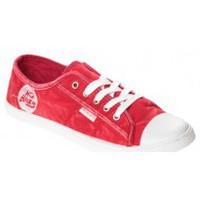 Schuhe Damen Sneaker Low Cassis Côte d'Azur Baskets Vika Rouge Rot