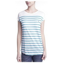 Kleidung Damen T-Shirts Little Marcel T-shirt Doldi Bleu Turquoise Blau