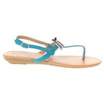 Schuhe Damen Sandalen / Sandaletten Cassis Côte d'Azur Sandales Tarik Bleu Blau