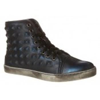 Schuhe Damen Sneaker High Cassis Côte d'Azur Baskets Belonie Bleu Blau