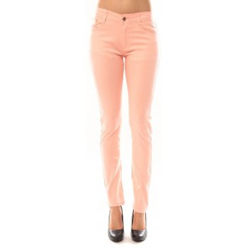 Kleidung Damen Hosen Tcqb Pantalon B3523 Rose Rose