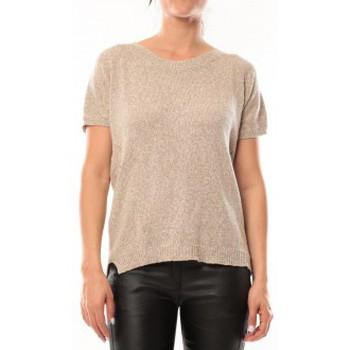 Kleidung Damen T-Shirts By La Vitrine T-Shirt S13010 Taupe Braun