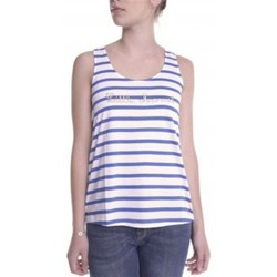 Kleidung Damen Tops Little Marcel Débardeur Domino E14IBF031 Blanc Weiss