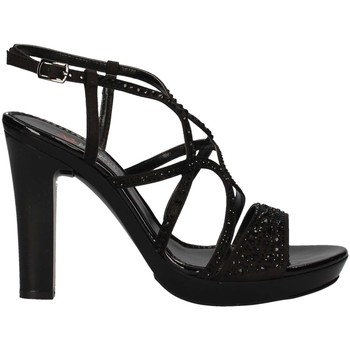 Schuhe Damen Sandalen / Sandaletten Repo 46420 Schwarz