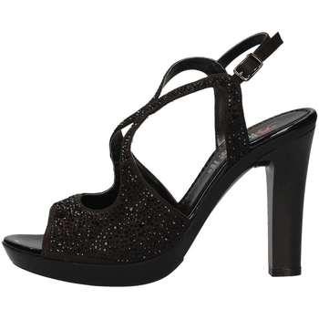 Schuhe Damen Sandalen / Sandaletten Repo 46419 Schwarz