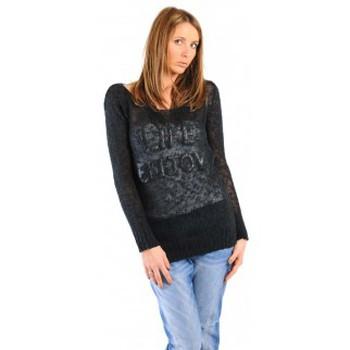 Kleidung Damen Pullover Dress Code PULL LIFE NOIR Schwarz