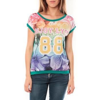 Kleidung Damen T-Shirts Tcqb T-shirt 88 Vert Grün