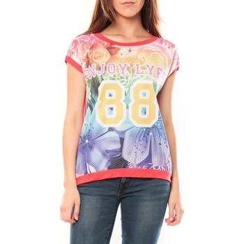 Kleidung Damen T-Shirts Tcqb T-shirt 88 Rouge Rot
