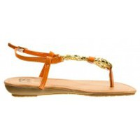Schuhe Damen Zehensandalen Cassis Côte d'Azur Tongs Typie Orange Orange