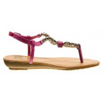 Schuhe Damen Zehensandalen Cassis Côte d'Azur Tongs Typie Violet Violett