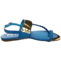 Schuhe Damen Sandalen / Sandaletten Cassis Côte d'Azur Sandales Fiduz Bleu Blau