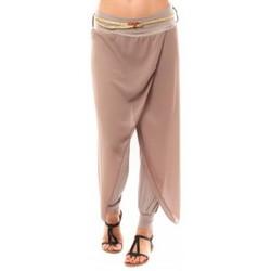 Kleidung Damen 3/4 Hosen & 7/8 Hosen Dress Code Pantalon O.D Fashion Beige Beige