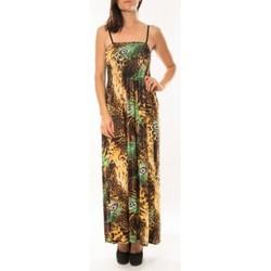 Kleidung Damen Kleider By La Vitrine Robe Huamei F723 Vert Grün
