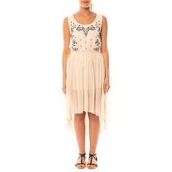 Kleidung Damen Kleider De Fil En Aiguille Robe Victoria & Karl GH0012 Rose poudre Rose