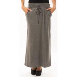 Kleidung Damen Röcke Sweet Company Jupe simple à poche Gris Foncé Grau