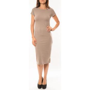 Kleidung Damen Kleider Sweet Company Robe Fashion Beige Beige
