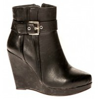 Schuhe Damen Low Boots Cassis Côte d'Azur Bottines Alane Noir Schwarz