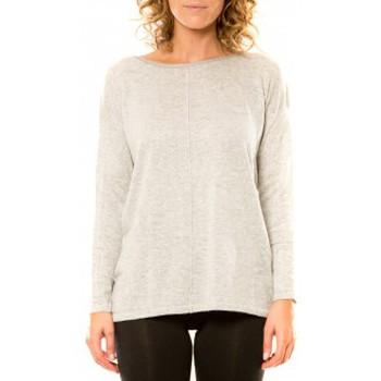 Kleidung Damen Pullover Vision De Reve Vision de Rêve Pull 12006 Gris Grau