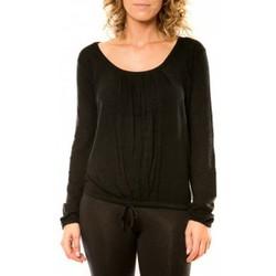 Kleidung Damen Pullover Vision De Reve Vision de Rêve Pull 12033 Noir Schwarz