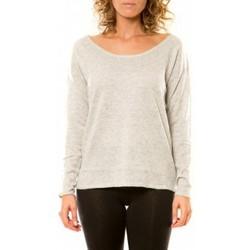 Kleidung Damen Pullover Vision De Reve Vision de Rêve Pull 12030 Gris Grau