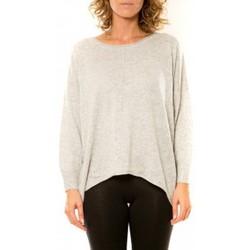 Kleidung Damen Pullover Vision De Reve Vision de Rêve Pull 12021 Gris Grau