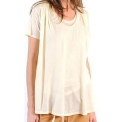 Kleidung Damen T-Shirts American Vintage TOP BEL20E11 NATUREL Beige