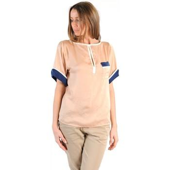 Kleidung Damen T-Shirts Tcqb TOP MIMOSA BEIGE Beige