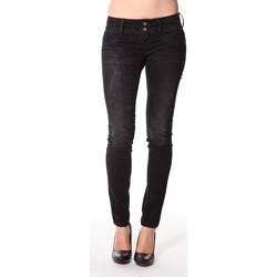 Kleidung Damen Slim Fit Jeans Meltin'pot Jeans Maryon D1489-UK010 Schwarz
