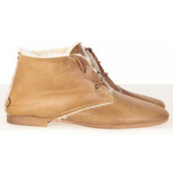 Schuhe Damen Low Boots Koah Bottines Buri Camel Braun