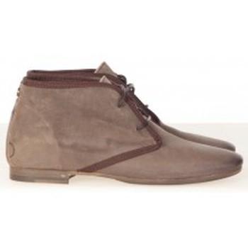 Schuhe Damen Low Boots Koah Bottines Burn Taupe Braun