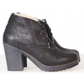 Schuhe Damen Ankle Boots Koah Low Boots BESS Noires Schwarz
