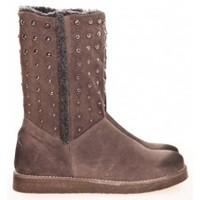 Schuhe Damen Boots Meline Boots NL 80  Marron Braun
