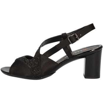 Schuhe Damen Sandalen / Sandaletten Repo 43404 Schwarz