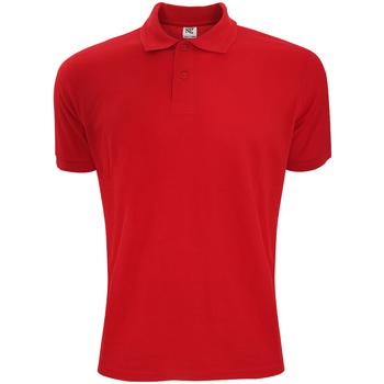 Kleidung Herren Polohemden Sg Polycotton Rot