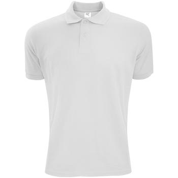Kleidung Herren Polohemden Sg Polycotton Weiß