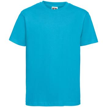 Kleidung Herren T-Shirts Russell R155M Türkis