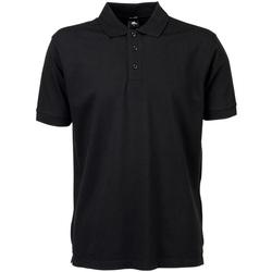 Kleidung Herren Polohemden Tee Jays TJ1405 Schwarz