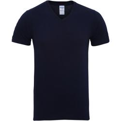 Kleidung Herren T-Shirts Gildan 41V00 Marineblau